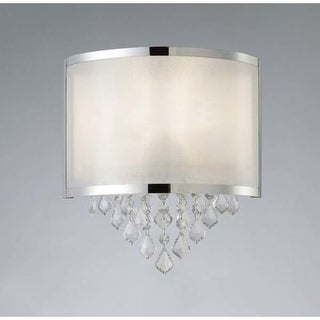 "Canarm IWL435A01 Reese Single Light 12-1/2"" High Wall Sconce"