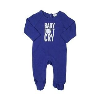 Absorba Baby Don't Cry Footed Pajamas Newborn Boys Play Wear