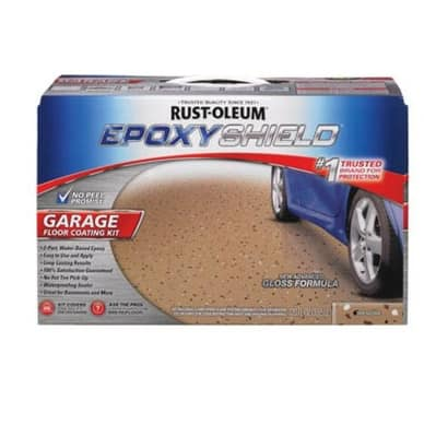 Rust-Oleum 251966 Epoxy Shield Garage Floor Coating Kit