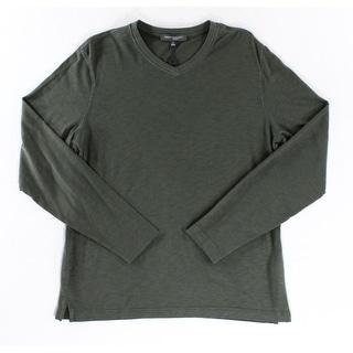 Robert Barakett NEW Moss Green Mens Size Large L V-Neck Sweater