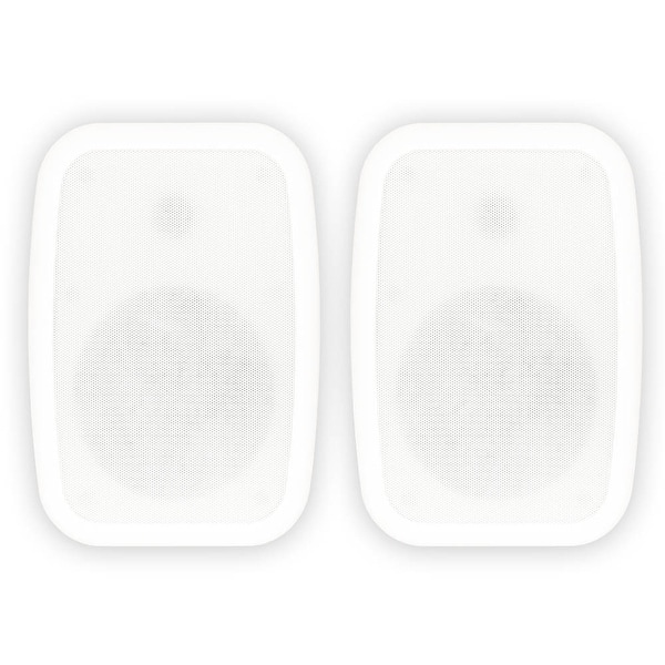 """Theater Solutions TS6ODW Indoor / Outdoor 6.5"""" Speakers Mountable Pair"""