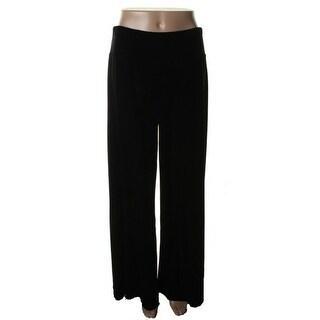 MSK Womens Casual Pants Velvet Solid