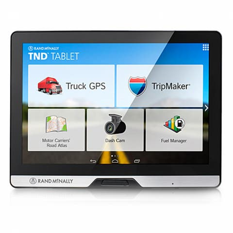 Refurbished Rand McNally TND Tablet 80 with inbuilt Dashcam & Bluetooth Truck GPS Plus Tablet