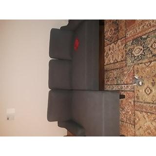 Shop Jarreau Contemporary Gray Sofa Chaise Sleeper On Sale Free