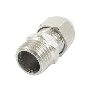 Unique Bargains 8mm Diameter Tube 1/4 PT Male Thread Quick Fittings Connector Adapter