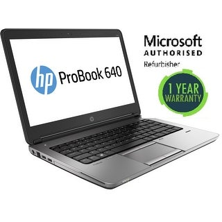 Refurbished HP 640G1, intel i5(4210M) - 2.6GHz, 16GB, 240GB SSD, W10 Pro, WiFi