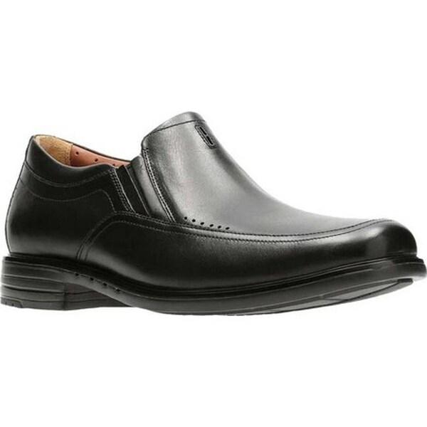 8076164dc77 Shop Clarks Men s Unbrylan Lane Loafer Black Cow Full Grain Leather ...
