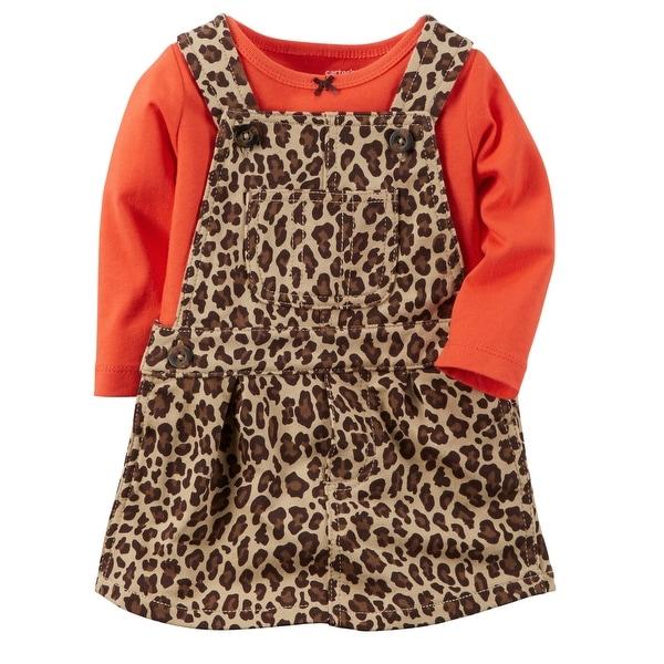 9bde070905f Carter's Baby Girls' 2-Piece Jumper Set - Cheetah Print