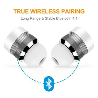 Link to Wireless Bluetooth Headset TWS Stereo Music Earphones for Android & IOS Smart Phone Similar Items in Cell Phone Accessories