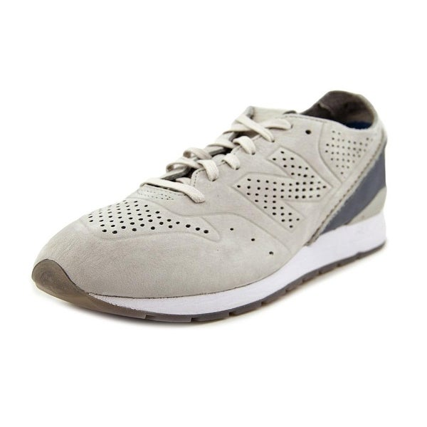 New Balance WL696 Men Round Toe Suede Gray Running Shoe
