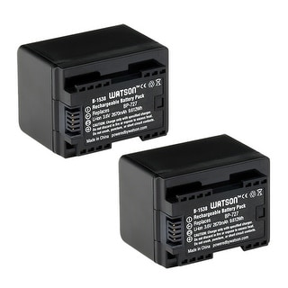 Battery for Canon BP727 (2-Pack) Replacement Battery