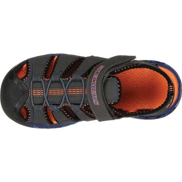 Shop Skechers Boys' S Lights Flex Flow Closed Toe Sandal