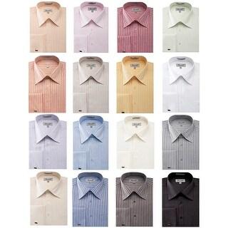 Link to Men's Herringbone French Cuff Shirt 2 Similar Items in Shirts