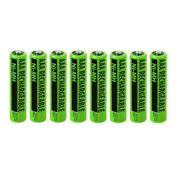 Replacement Panasonic NiMH AAA Battery for KX-TG4224 /KX-TG7845S /KX-TGE264 Phone Models- 8Pk