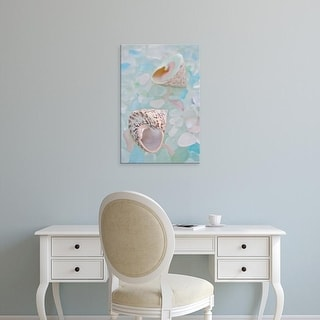 Easy Art Prints Alan Blaustein's 'Crystal Harbor #5' Premium Canvas Art