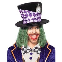 Oversized Mad Hatter Top Hat Adult Costume