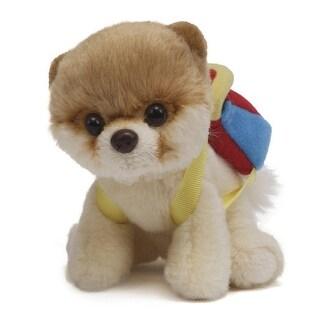 "5"" Itty Bitty Boo The World's Cutest Dog ""Backpack"" Children's Plush Stuffed Animal #020 - Brown"