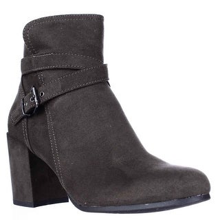 madden girl Rightonn Ankle Booties - Olive