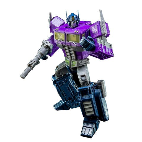 "Transformers Shattered Glass 9"" Action Figure: Optimus Prime - multi"