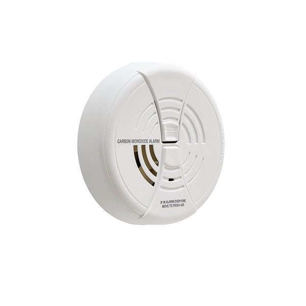 Carbon Monoxide Alarm by First Alert BRK CO250 and Two Silence Features -  White