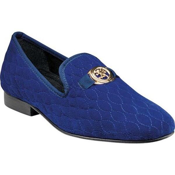 Valet Bit Loafer 25166 Dark Blue Velour