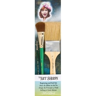 Art Sherpa Beginning & End Brush Set 3/Pkg-