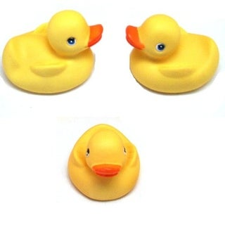 Rhode Island Novelty Classic Rubber Ducks Package of 12