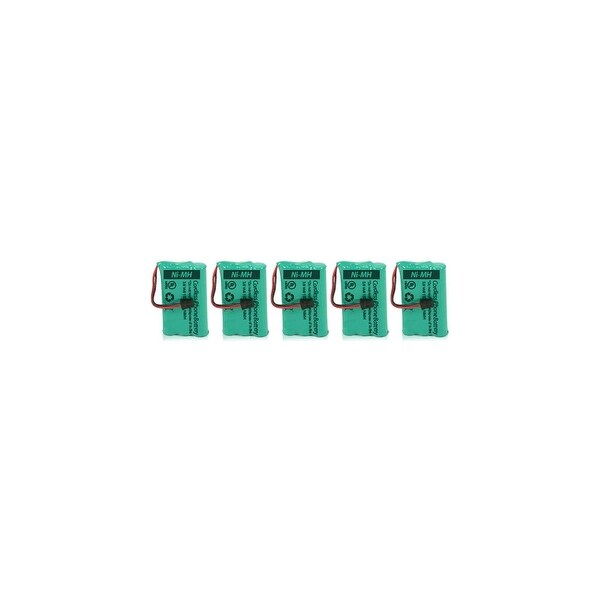 Uniden BATT-446/GE-TL26402 (5-Pack) Battery for Uniden (BT446)