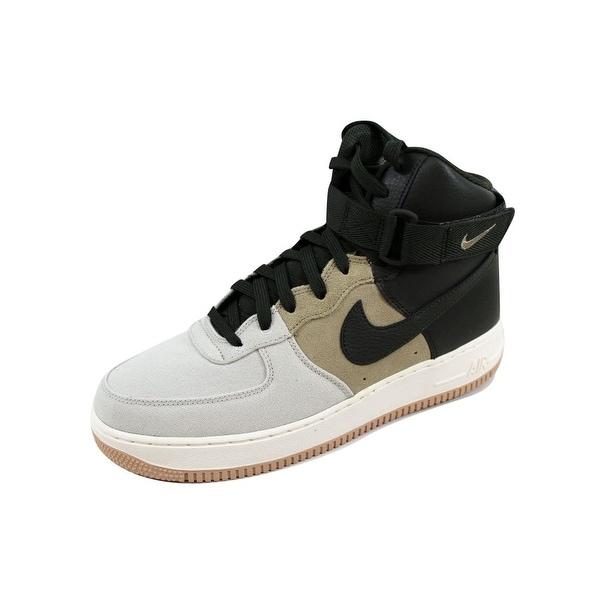 Nike Men's Air Force 1 High 07 LV8 Light Bone/Sequoia-Khaki0Sail 806403-008