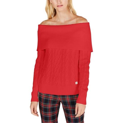 Tommy Hilfiger Womens Solid Pullover Sweater