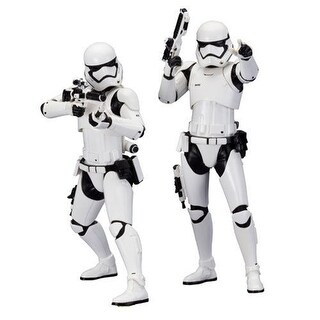 Star Wars: The Force Awakens First Order Stormtrooper ARTFX+ Figure 2-Pack