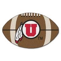 University of Utah Football Area Rug