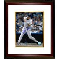 Wade Boggs signed New York Yankees 8x10 Photo Custom Framed MLB Hologram