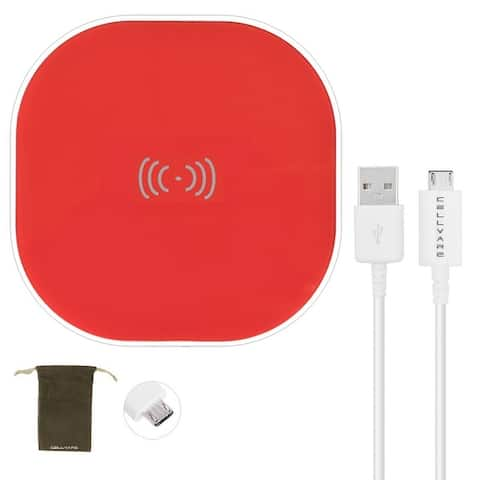 Universal Qi Wireless Charging Pad for Qi Devices as Samsung, iPhone X, LG, Motorola