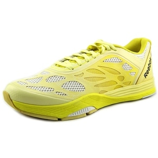 Reebok LM Cardio Ultra W Women Round Toe Synthetic Yellow Cross Training