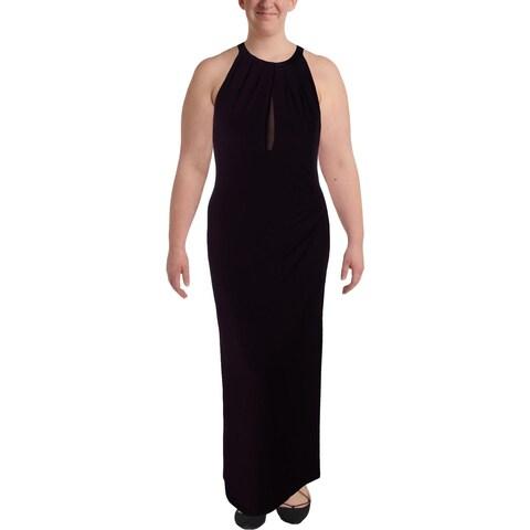 Lauren Ralph Lauren Womens Formal Dress Mesh Sleeveless