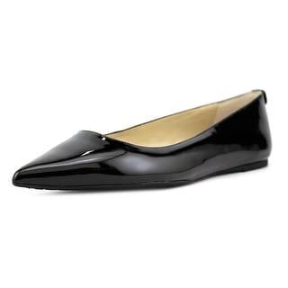 Michael Michael Kors Arianna Flat Women Pointed Toe Synthetic Black Flats