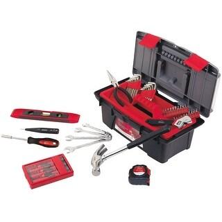 Apollo DT9773 Household Tool Kit With Tool Box, 53 Piece
