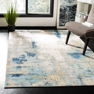 Link to Safavieh Jasper Maleah Modern Abstract Rug Similar Items in Transitional Rugs