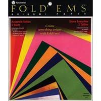 Fold 'Ems Origami Paper 55/Pkg-Assorted Colors