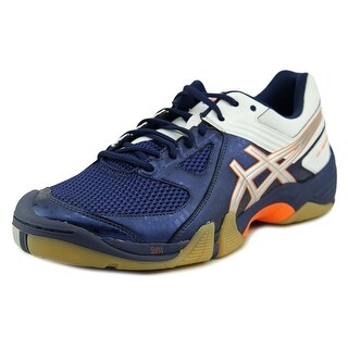 Asics GEL-Dominion Men  Round Toe Leather Blue Sneakers