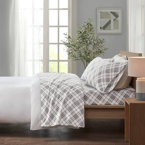 Taylor & Olive Heron Flannel Cotton Bed Sheet Set