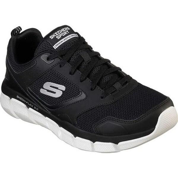 afdb9b1687f8 Skechers Men  x27 s Relaxed Fit Skech-Flex 3.0 Whiteshore Sneaker Black