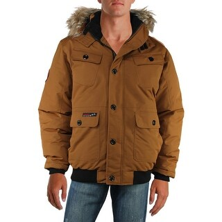 Canada Weather Gear Mens Big & Tall Parka Coat Winter Water Resistant - 3Xl