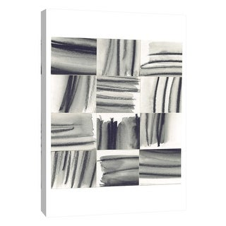 """PTM Images 9-108703  PTM Canvas Collection 10"""" x 8"""" - """"Squares 5"""" Giclee Abstract Art Print on Canvas"""