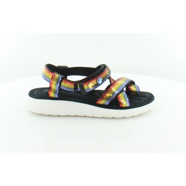 3c44f41aad66 Shop Marc By Marc Jacobs Comet Women s Sandals Rainbow - Free ...