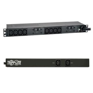 Tripp Lite Basic Pdu, 30A, 10 Outlets (C13), 208/240V, L6-30P, 12 Ft. Cord, 1U Rack-Mount Power (Pduh30hv)