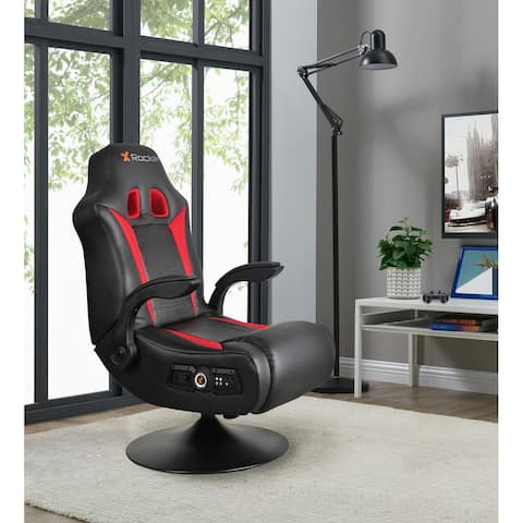 X Rocker Vibe 2.1 Bluetooth Pedestal Gaming Chair