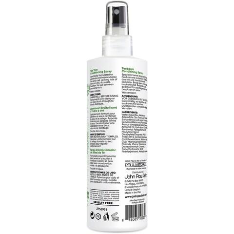 John Paul Pet Tea Tree Conditioning Spray 8Oz-
