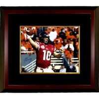 sale retailer f96f7 a3c13 Shop Eli Manning signed Ole Miss Rebels 16x20 Photo Custom ...